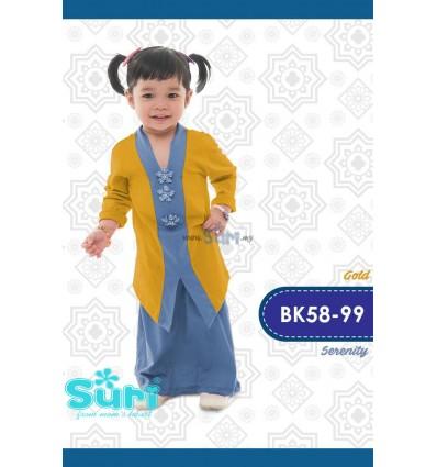 BAJU KEBAYA BK58_99 - GOLD_SERENITY