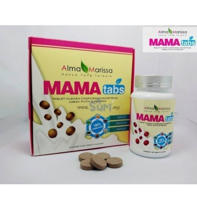 MAMA TABS Milk Booster - 60 Tablet