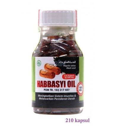HABBASYI OIL - 210 Kapsul