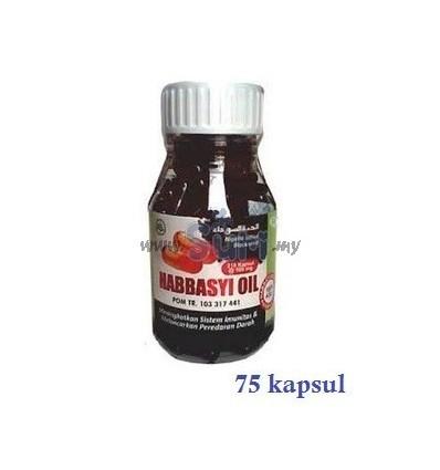 HABBASYI OIL - 75 Kapsul