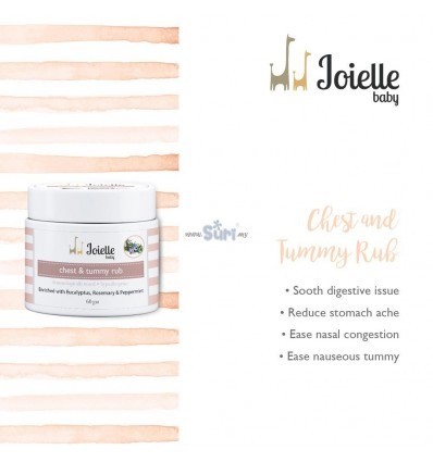 Joielle Baby Chest and Tummy Rub 60mg