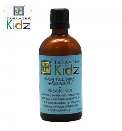 Tanamera Baby Full Body Massage Oil + Organic VCO