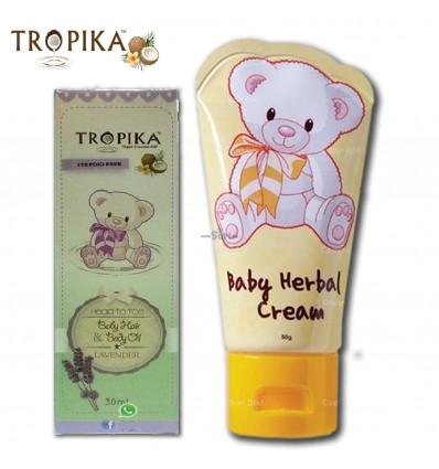 TROPIKA Herbal Cream 50g & Oil Lavender 30ml
