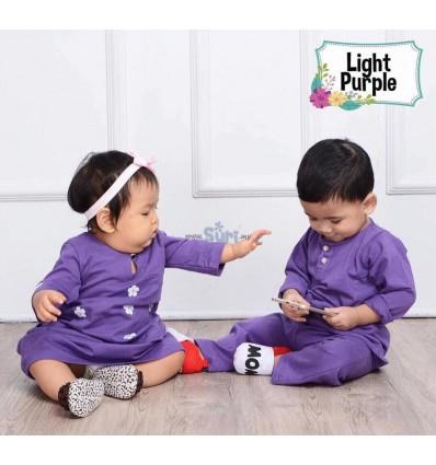 MHC Baju Melayu Light Purple