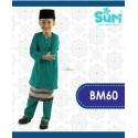 Baju Melayu BM60 - TEAL