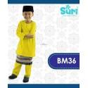 Baju Melayu BM36 - YELLOW