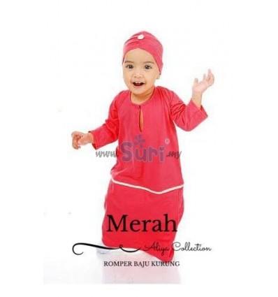 ROMPER KURUNG MERAH