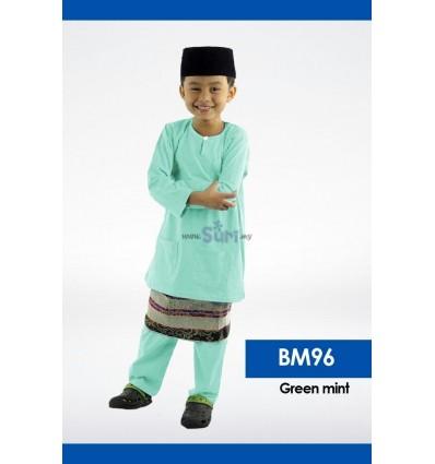 Baju Melayu BM96 - GREEN MINT