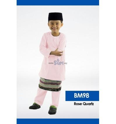 Baju Melayu BM98 - ROSE QUARTZ