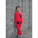 Baju Melayu 2 Tone - RED