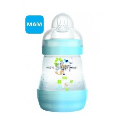 MAM Anti-Colic Bottle 160ml - BLUE