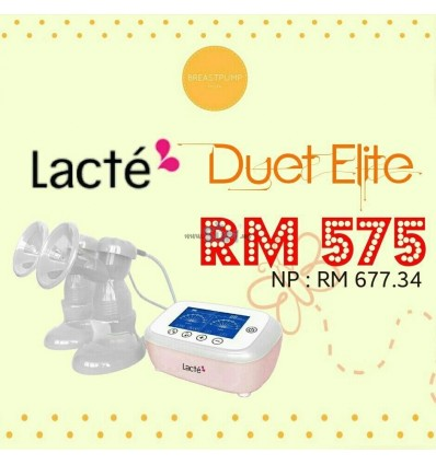 LACTE - DUET ELITE DOUBLE ELECTRIC BREASTPUMP