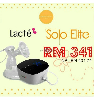 LACTE - SOLO ELITE SINGLE ELECTRIC BREASTPUMP