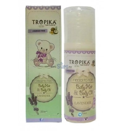 TROPIKA Baby Hair & Body Oil Lavender
