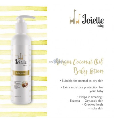 Joielle Baby Lotion Virgin Coconut Oil 250ml