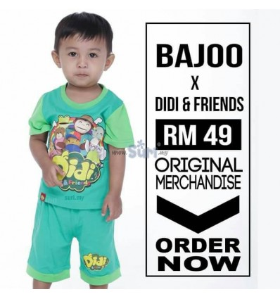 DIDI & FRIENDS Shirt Original Green
