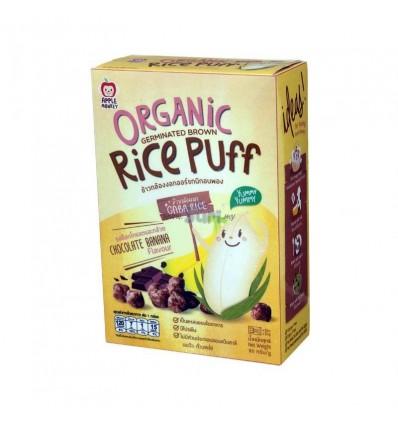Apple Monkey Organic Rice Puff Chocolate Banana