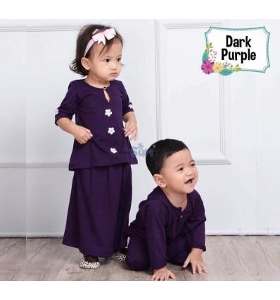 MHC Baju Melayu Dark Purple