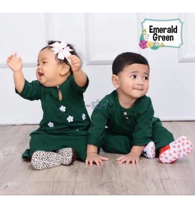 MHC Baju Melayu Emerald Green