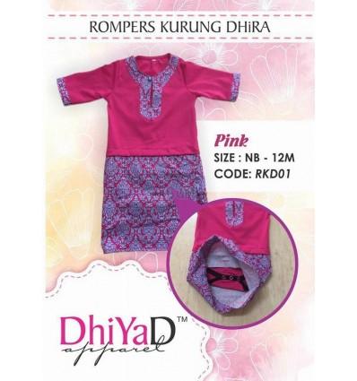 Baju Kurung Dhira Pink