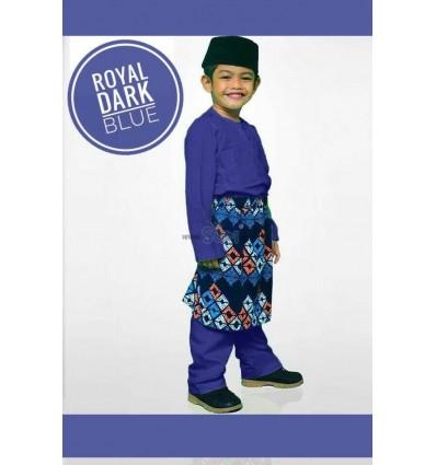 Baju Melayu Royal Dark Blue