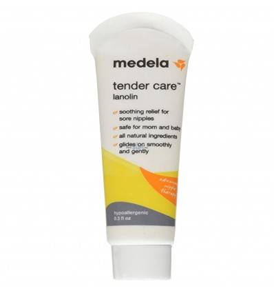 Medela Tender Care Lanolin Soothing relief for sore nipples - 0.3 oz