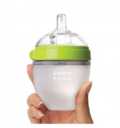 COMOTOMO Silicone Bottles 150ml Green
