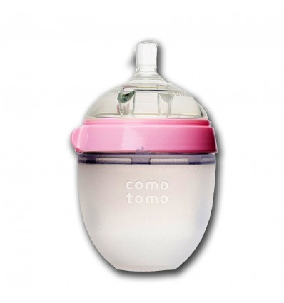 COMOTOMO Silicone Bottles 150ml Pink