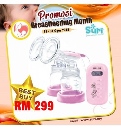 Malish Aria Double Electric Breast Pump