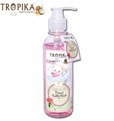 Tropika Bubble Wash Head To Toe Sweet - 230ml