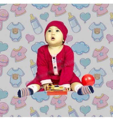 Romper Baju Melayu GMO 06- Red