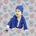Romper Baju Melayu GMO 10- Royal Blue