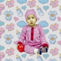 Romper Baju Melayu GMO 09- Dusty Pink