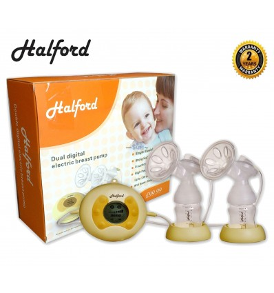 Halford Double Breast Pump