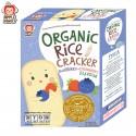 Apple Monkey Rice Puff Blueberry & Strawberry Rice Cracker