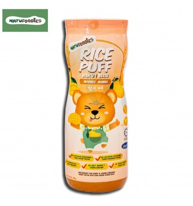 Natufoodies Rice Puff Orange Peach 60g